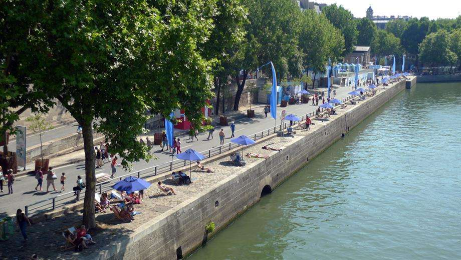 """Paris Plages"", the capital in a holiday mood"