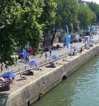 Paris Plages, la capitale en mode vacances