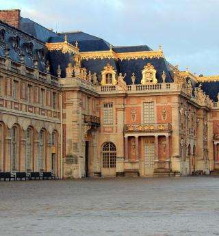 The splendor of Versailles Castle