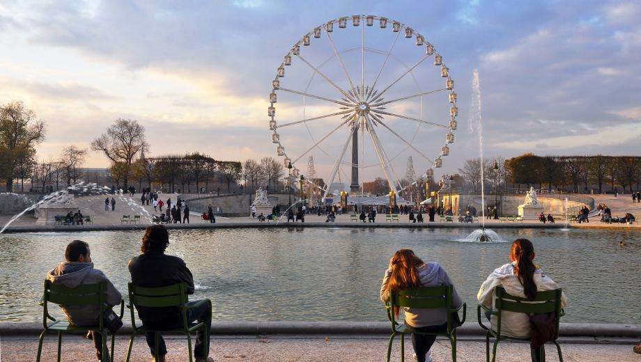 Gourmet And Festive Moment In The Tuileries Garden The Empire Paris