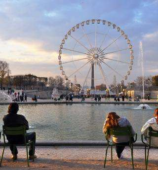 Gourmet and festive moment in the Tuileries Garden