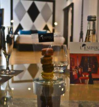 The exceptional Room Service of L'Empire Paris
